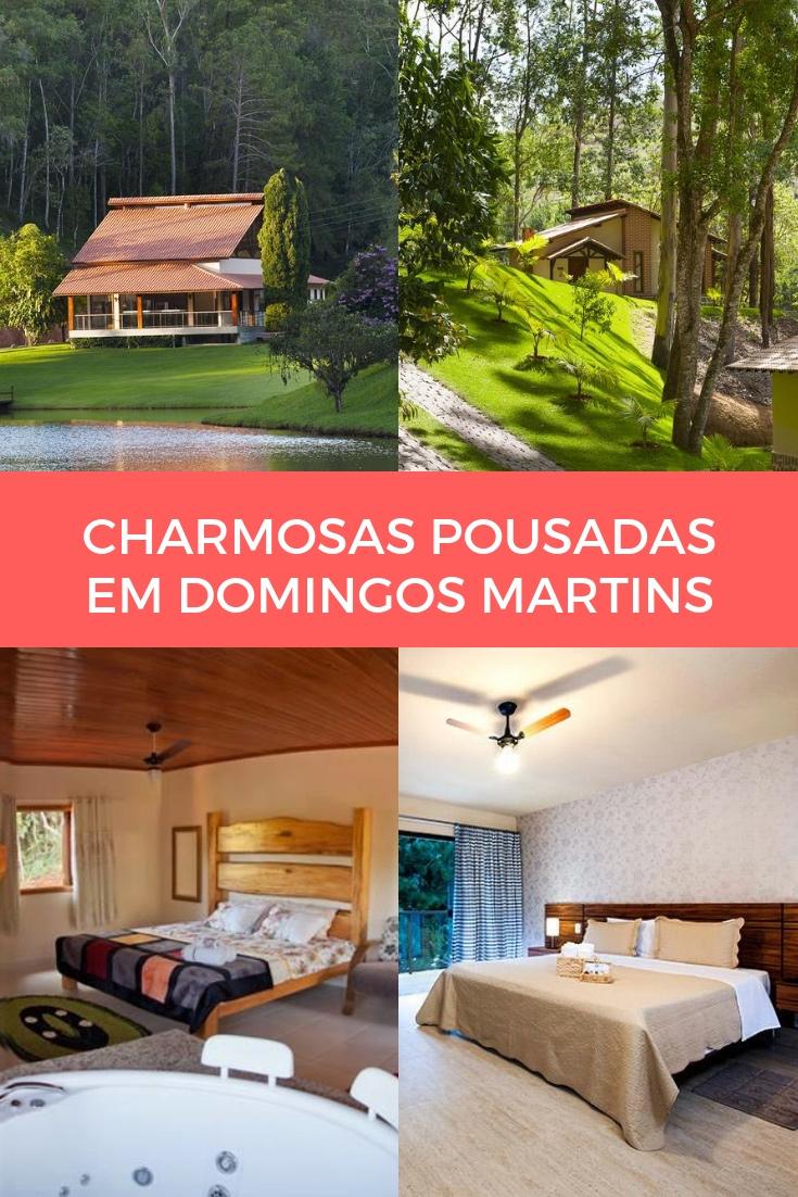 Charmosas Pousadas em Domingos Martins