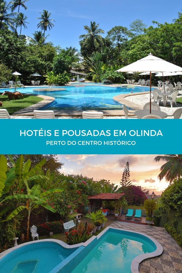 Hotéis e Pousadas em Olinda perto do Centro Histórico