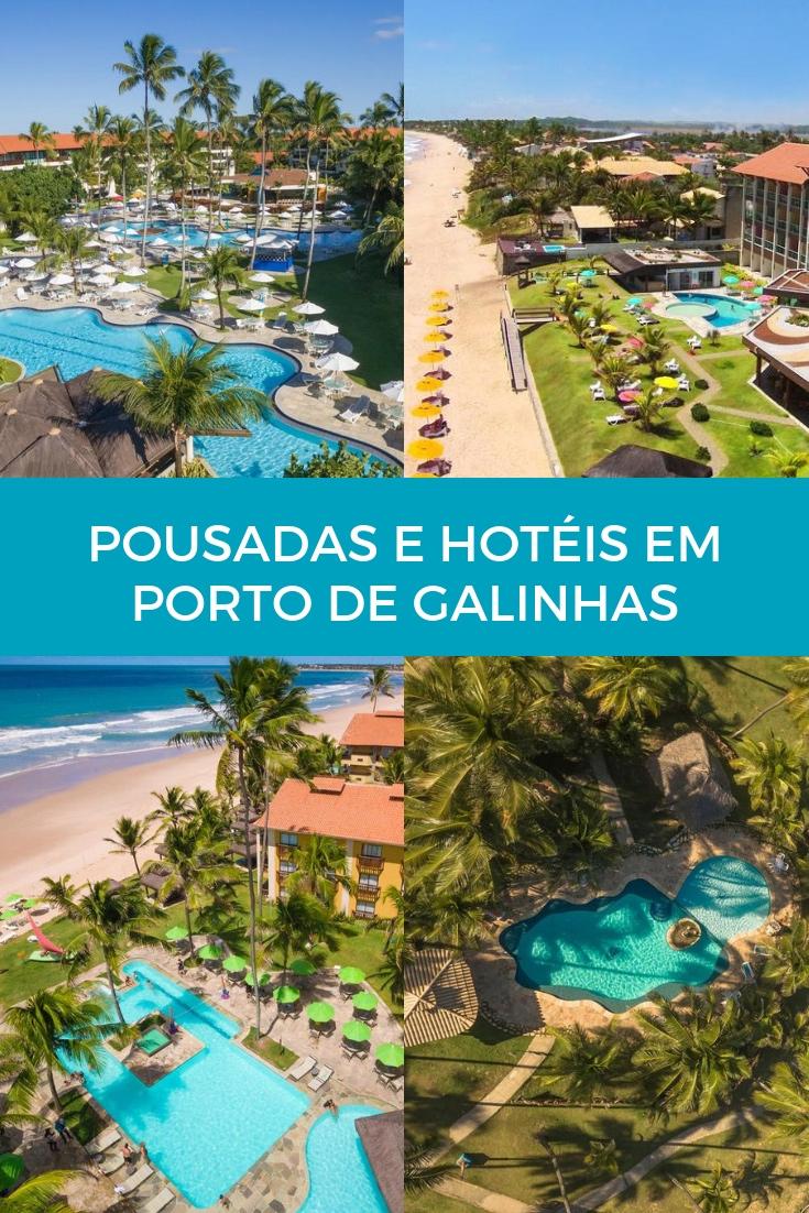 Pousadas e Hotéis em Porto de Galinhas para curtir o paraíso de Pernambuco
