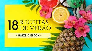 e-book Receitas de Verão