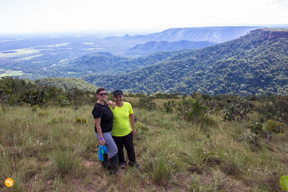 Amanda e Eloah na Chapada dos Guimarães