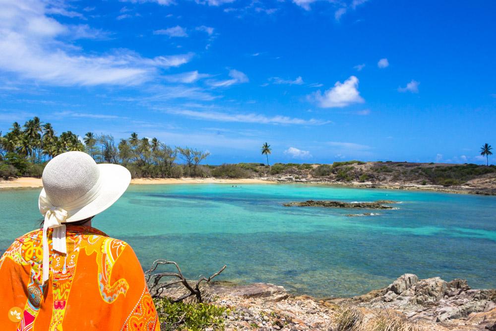 Amanda Fernandes na Ilha de Santo Aleixo