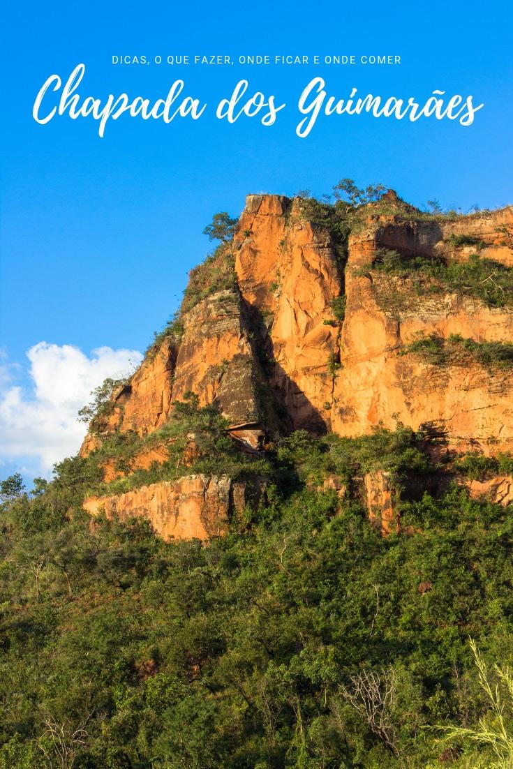 Chapada dos Guimarães: destino recheado de cachoeiras, mirantes, cavernas e trilhas. Além dos mais de 150 km de paredões de arenito vermelho-alaranjado!