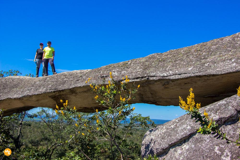 Amanda e Eloah no Circuito das Cavernas - Chapada dos Guimarães