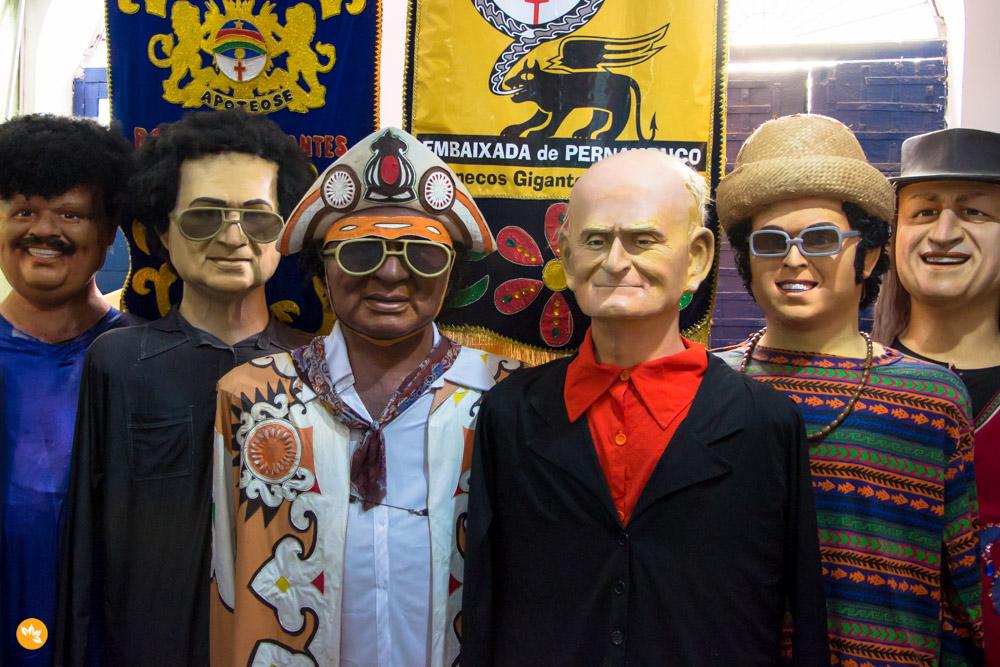 Embaixada dos Bonecos Gigantes de Olinda