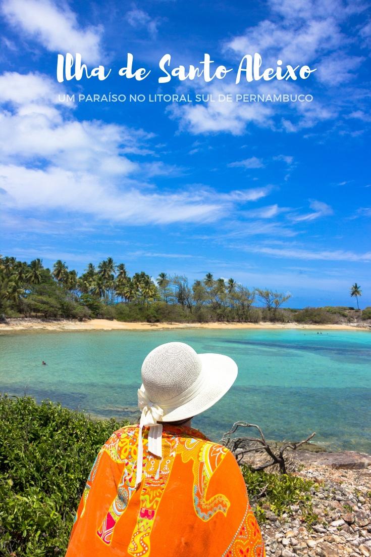 Ilha de Santo Aleixo - Um paraíso no litoral sul de Pernambuco