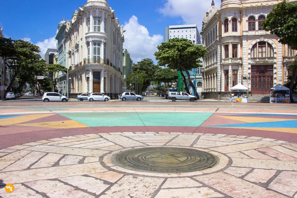 O que fazer em Recife - Praça do Marco Zero