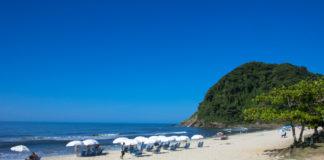 Praia de Juréia em São Sebastião