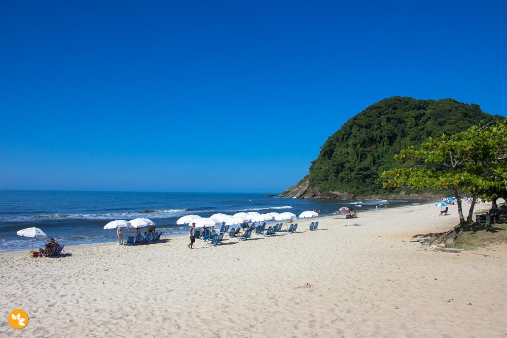 Praia da Juréia em São Sebastião