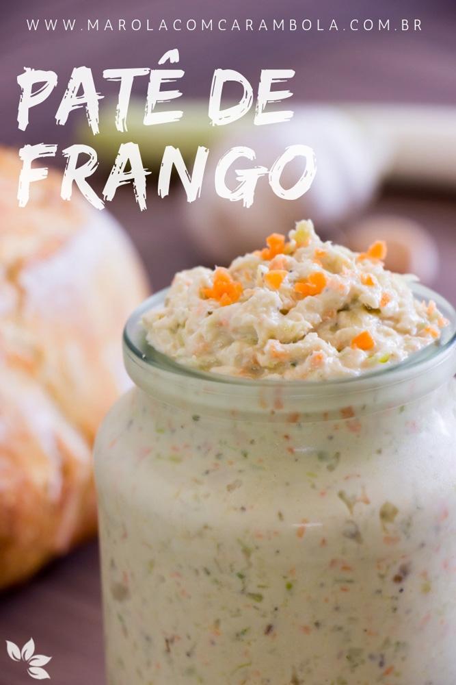 Receita de Patê de Frango