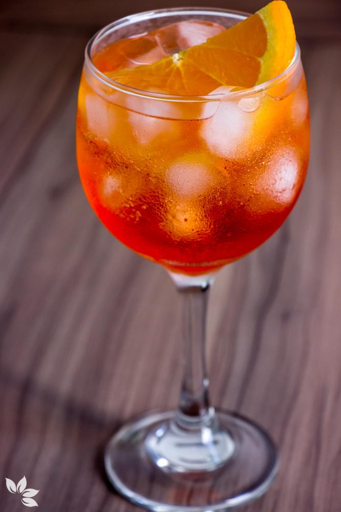Receitas de Gin Tônica - Aperol