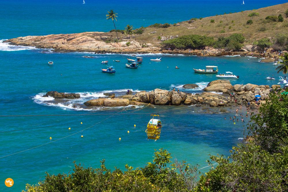 Teleférico na Praia de Calhetas - Cabo de Santo Agostinho