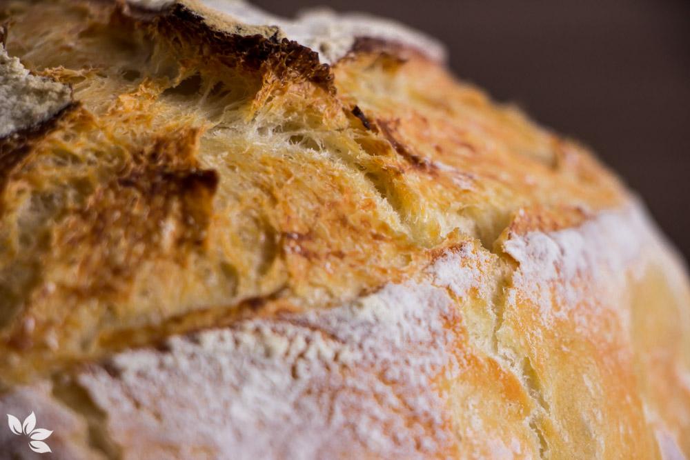 Receita de pão das 10 dobras. Pão caseiro sem sova.