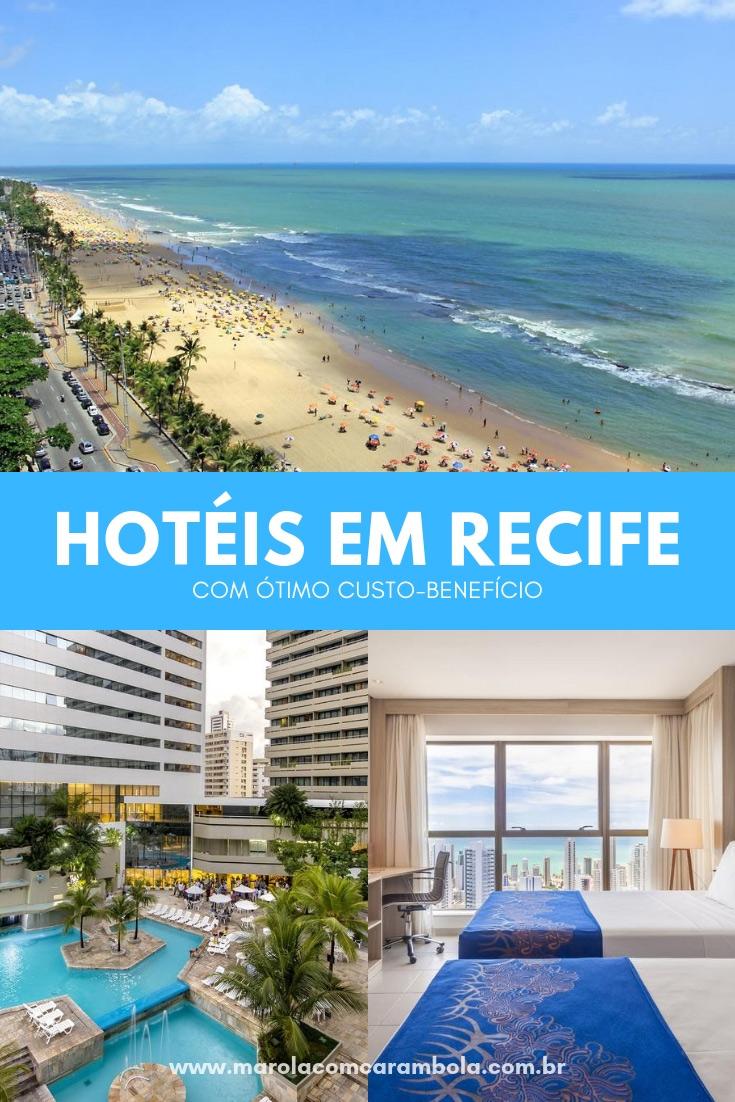 Hotéis em Recife: Escolha o melhor bairro (Boa Viagem ou Pina) e encontre um bom hotel com custo-benefício em Recife! Preço, conforto e comodidade.