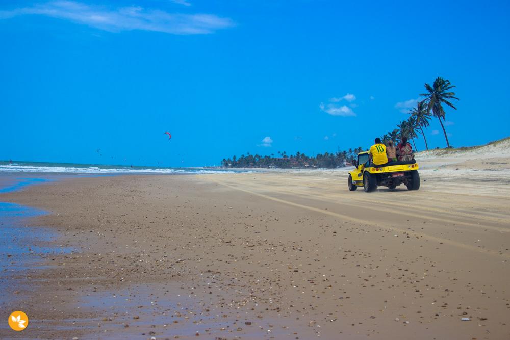 O que fazer em Fortaleza - Praia de Cumbuco