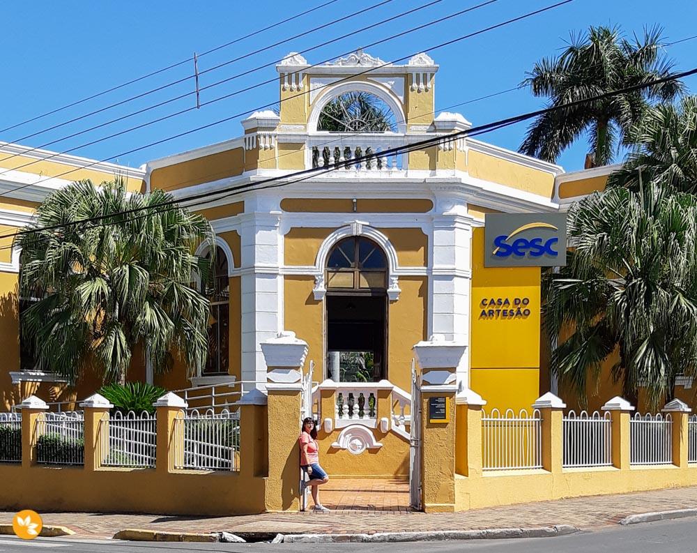 O que fazer em Cuiabá - Sesc Casa do Artesão