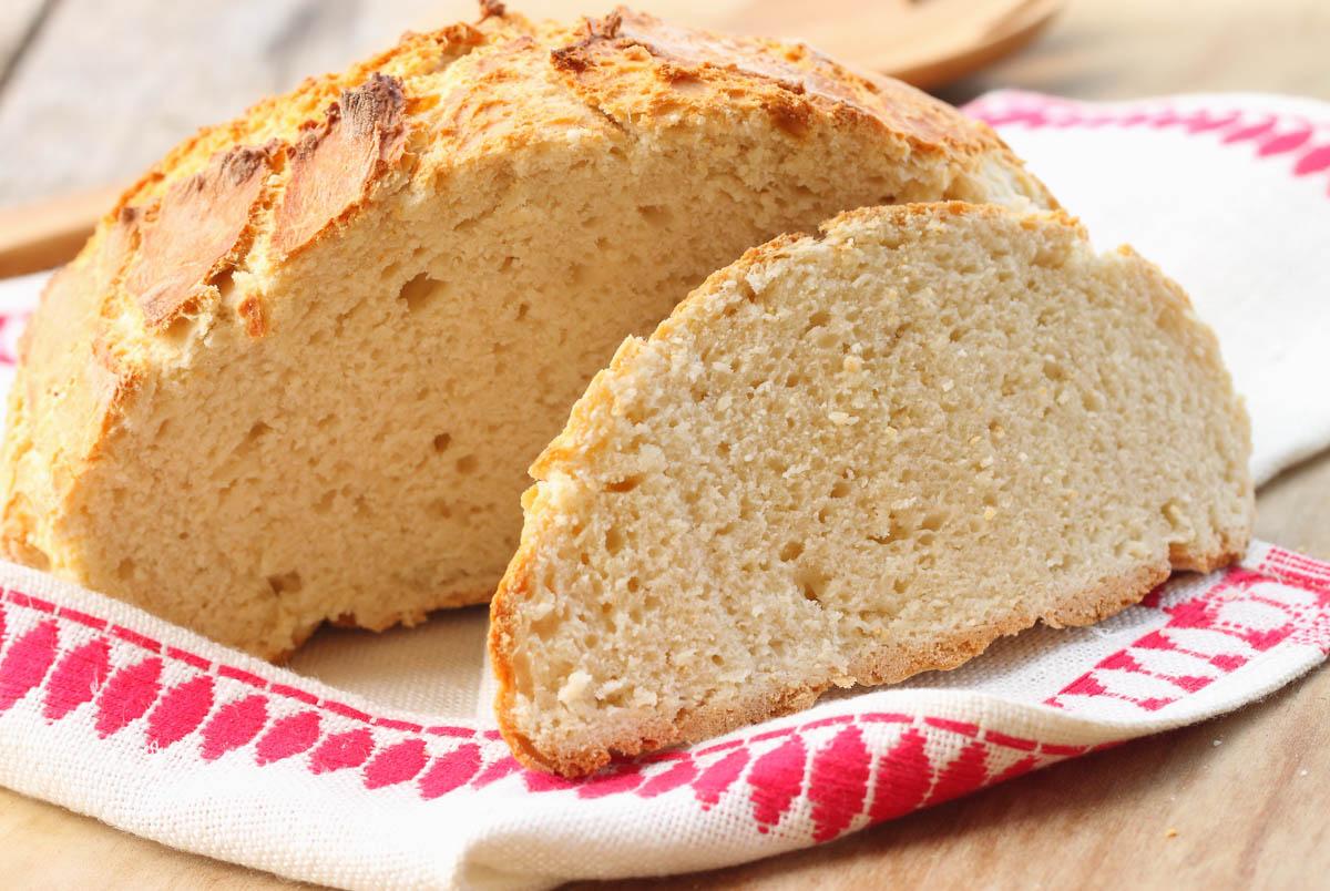 Receita de Soda Bread Irlandês