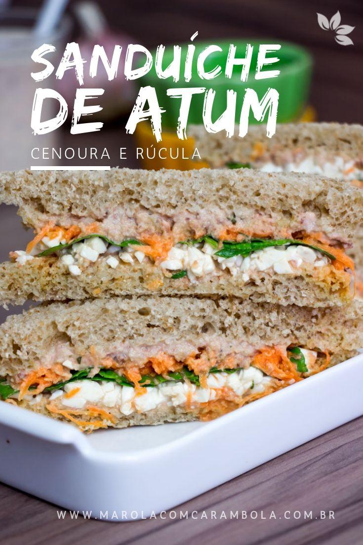 Receita de Sanduíche de Atum