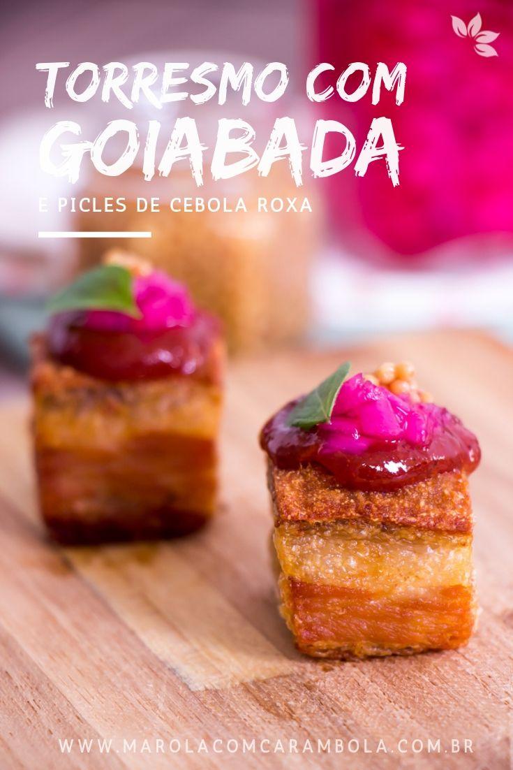 Receita de Torresmo com Goiabada (Chef Jefferson Rueda)