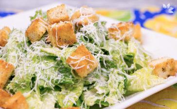 Receita de Salada Caesar - Caesar Salad