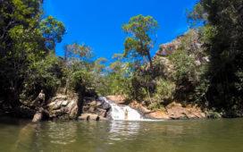 Cachoeira da Prainha - Circuito das Cachoeiras na Chapada dos Guimarães