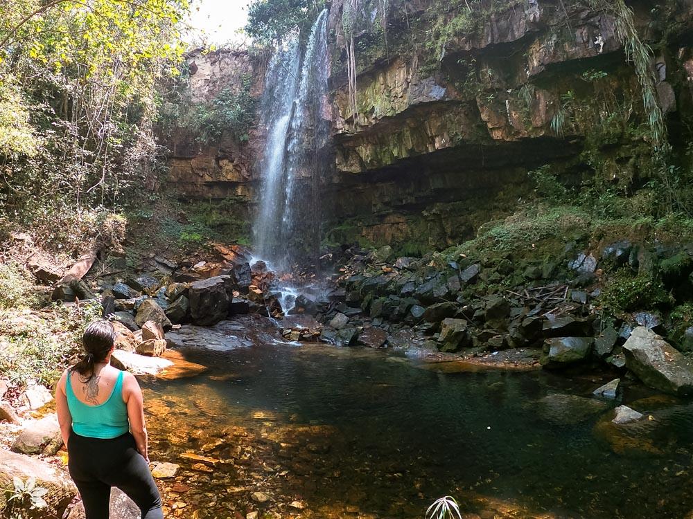 Chapada dos Guimarães - Águas do Cerrado - Cachoeira Alma Gêmea
