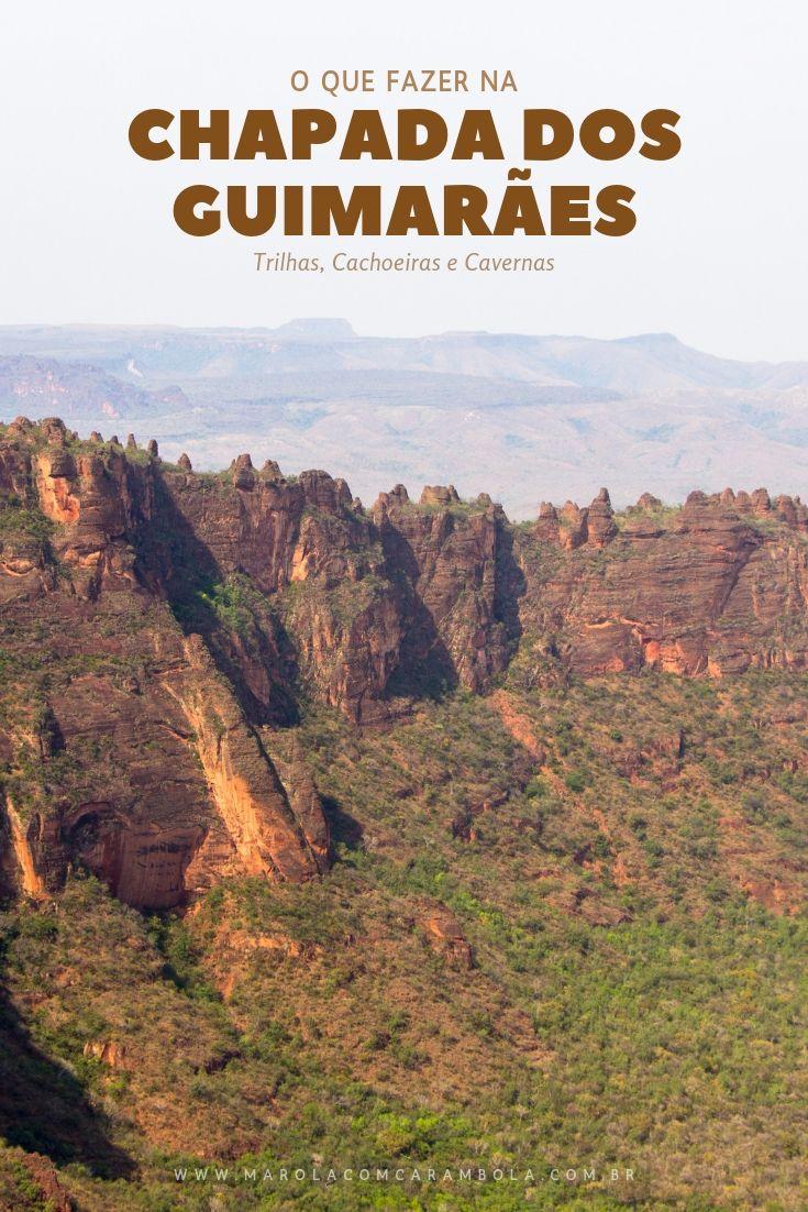 Guia Completo com o que fazer na Chapada dos Guimarães: paisagens, cachoeiras, mirantes, cavernas, paredões de arenito, trilhas e o Parque Nacional.