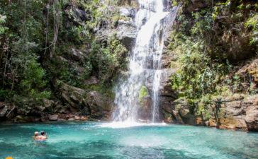 Cachoeira Santa Bárbara – O cartão postal da Chapada dos Veadeiros