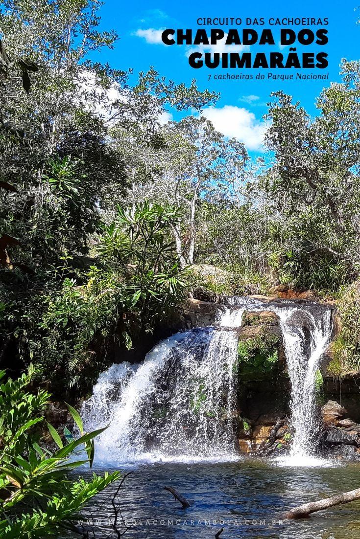 O Circuito das Cachoeiras na Chapada dos Guimarães é um dos passeios mais indicados para conhecer lindas cachoeiras do Parque Nacional.