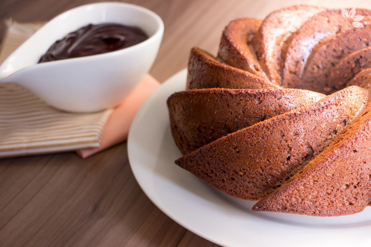 Receita de Bolo de Café com Chocolate