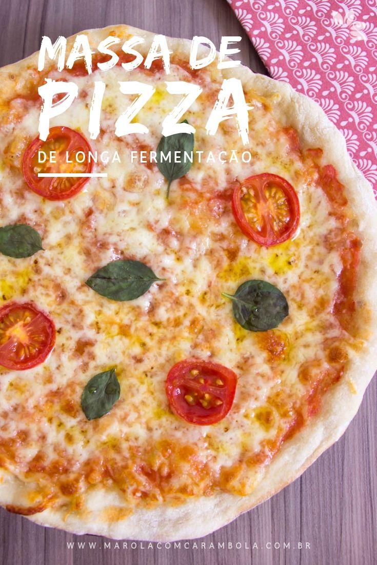 Receita de Massa de Pizza de Longa fermentação feita com cerveja