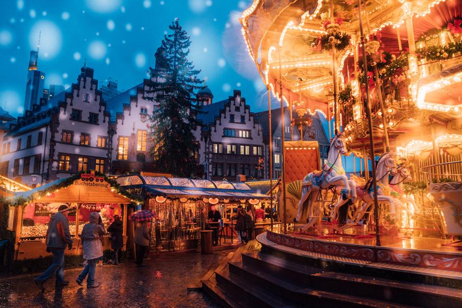 Dicas para sua próxima viagem para Europa no inverno - Frankfurt - Alemanha