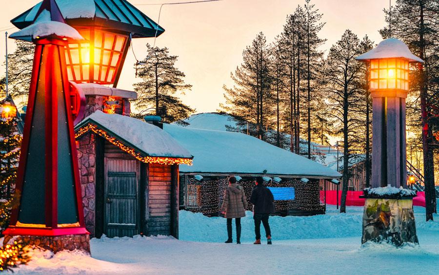 Dicas para sua próxima viagem para Europa no inverno - Rovaniemi - Finlandia