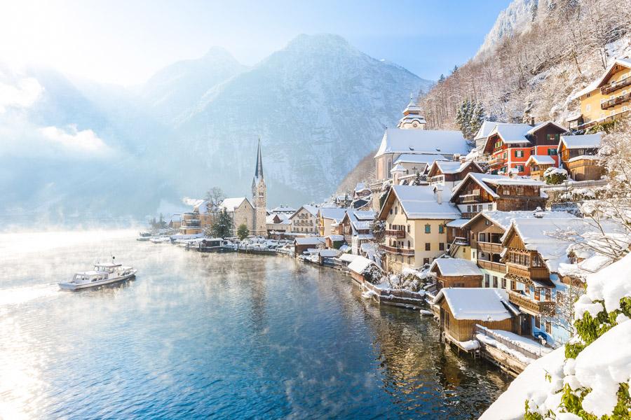 Dicas para sua próxima viagem para Europa no inverno - Salzkammergut - Austria