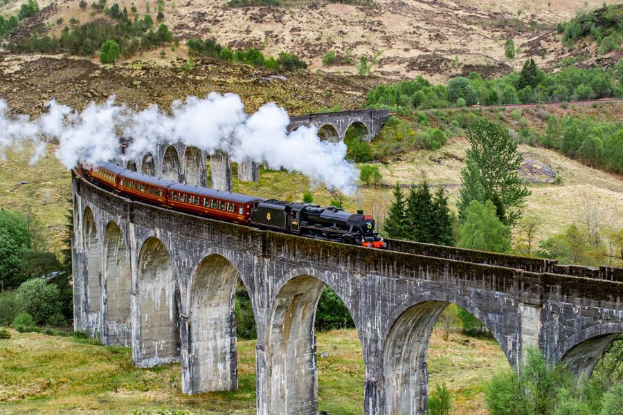 Dicas para sua próxima viagem para Europa no inverno - Viaduto de Glenfinnan - Escócia