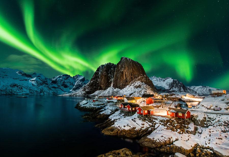 Dicas para sua próxima viagem para Europa no inverno - Aurora Boreal - Noruega