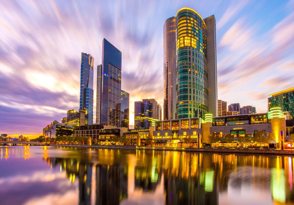 Rockpool Bar & Grill Melbourne do Crown Casino em Melbourne