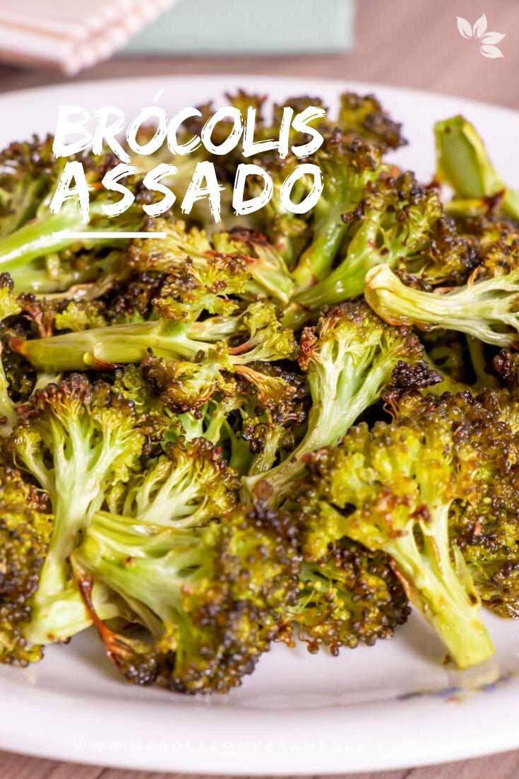 Receita de Brócolis no Forno