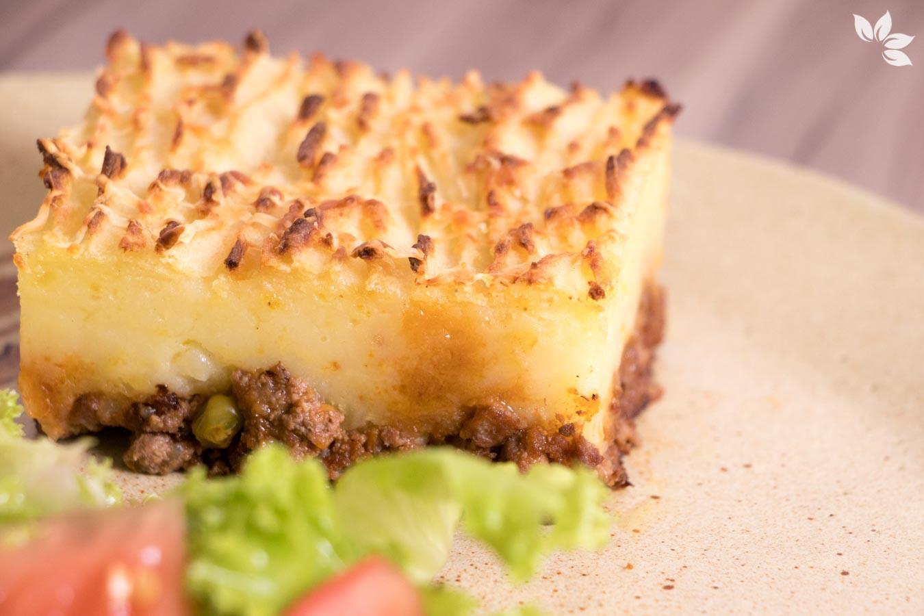 Receita de Torta Madalena de Carne Moída