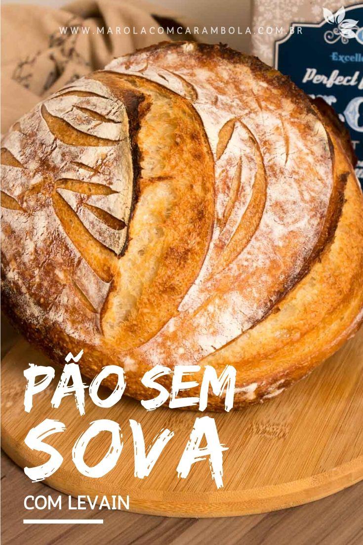 Receita de Pão sem Sova com Levain