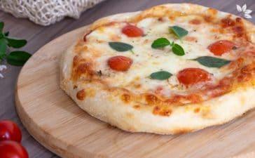 Receita de Massa de Pizza Caseira com Fermentação Natural - Levain
