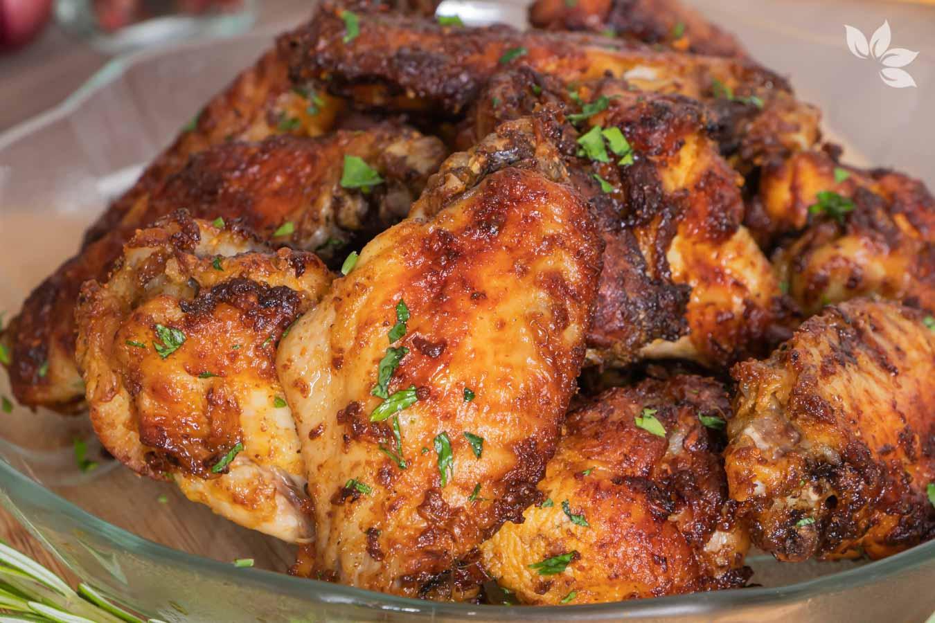 Receita de asinhas de frango na airfryer