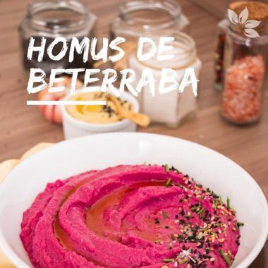 Receita de Homus de Beterraba