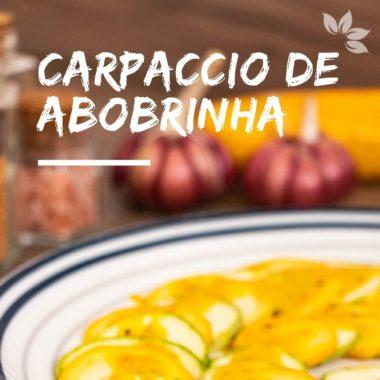 Receita de Salada de Abobrinha Crua – Carpaccio de Abobrinha
